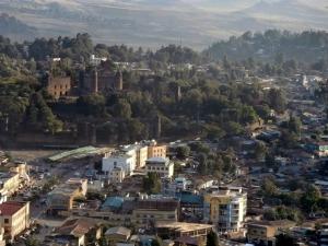 Skyline of Gondar