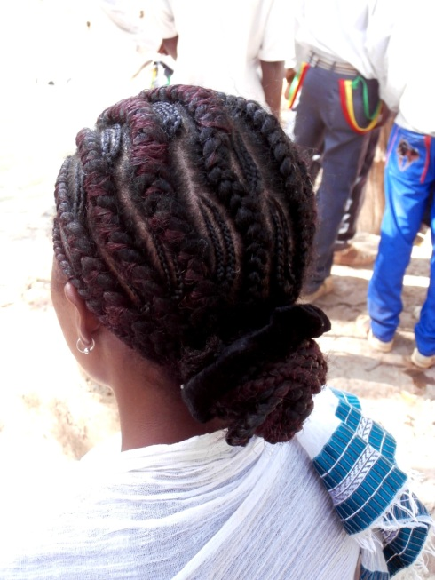 braids- with smaller braids, and other braids around those. Cool.
