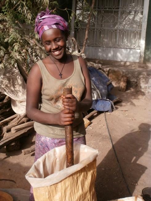 Wubit making Berbere