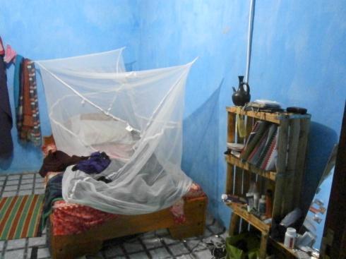 Bedroom - No Malaria for me!