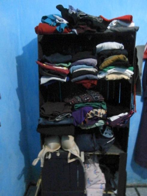 Shelf after paint