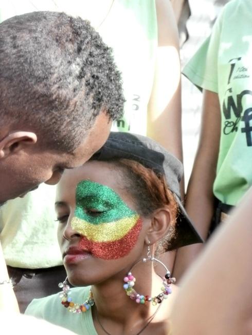 Ethiopian colours!