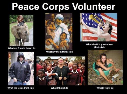 peace corps meme