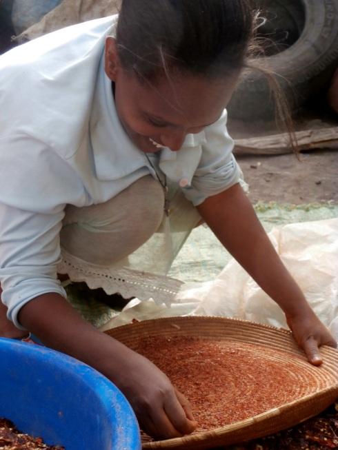 Nezi making berbere