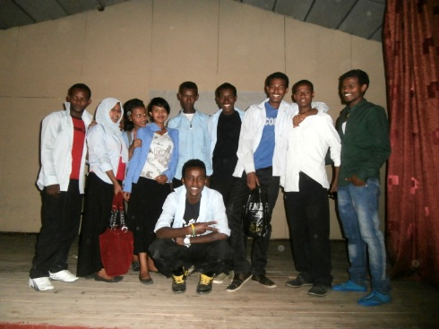 The cast of the HIV Drama