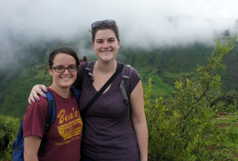 Ciara (Peace Corps Cameroon and fellow Boulderite and BUer) came to visit
