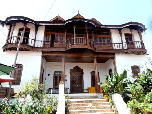 Ras Taferi's house (later, known as Haile Selassie)