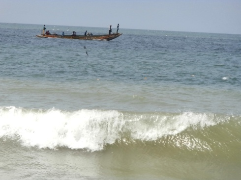 fisherman at Popenguine