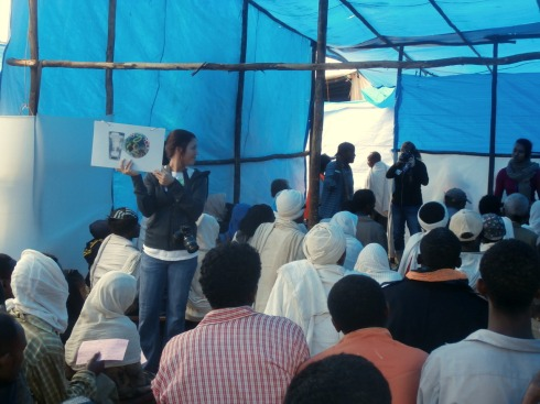 the hygiene and sanitation session