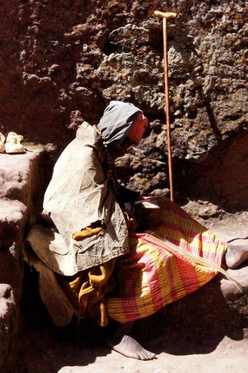 a hermit on pillgrimage