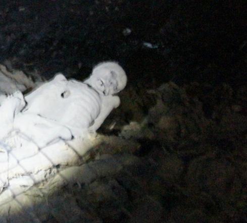 Mummies in the monastery