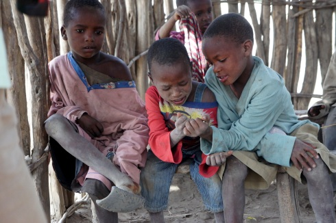 Masai schoolchildren