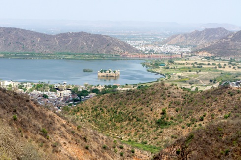 A view from the Amber Fort