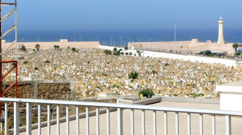 A cemetery outside the Kasbah