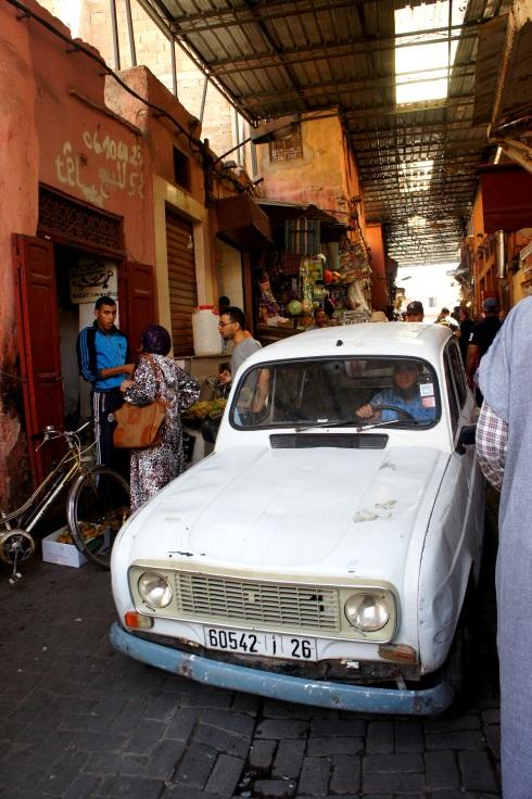 cars should not go through medinas