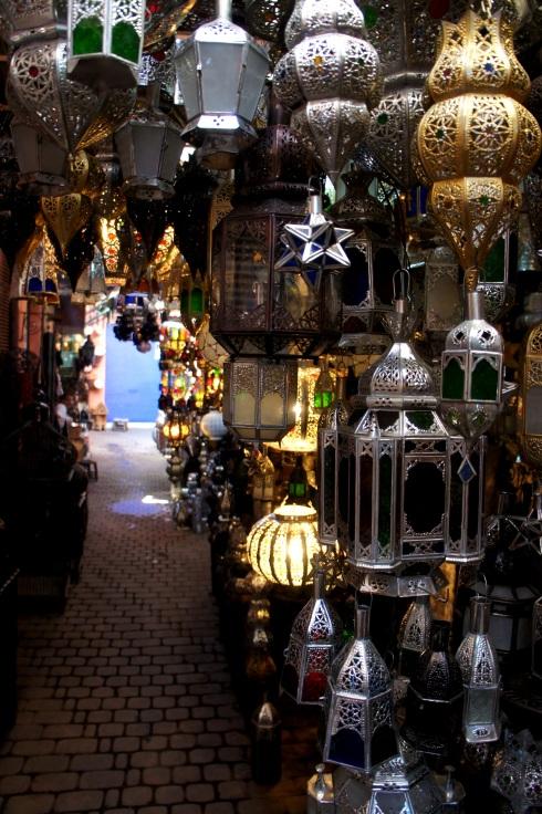 lanterns in the market