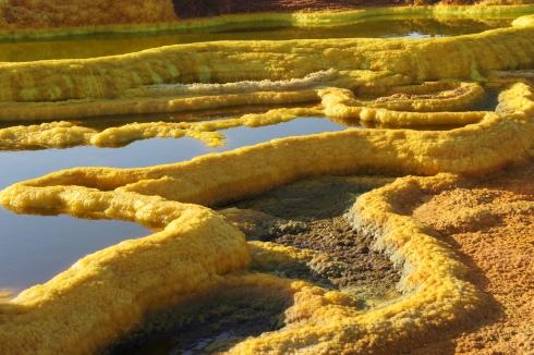 Sulfer pools