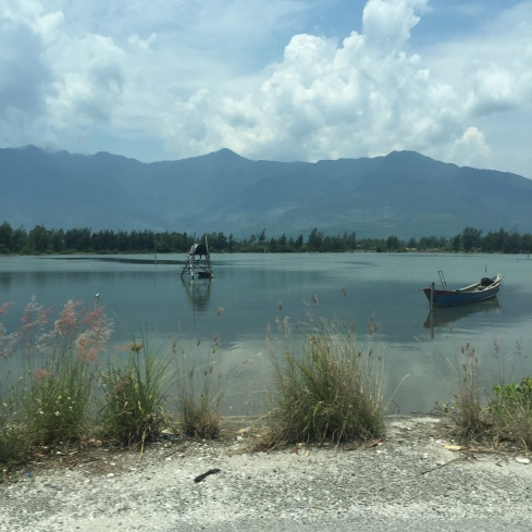 Some scenery from the drive to Hoi An.