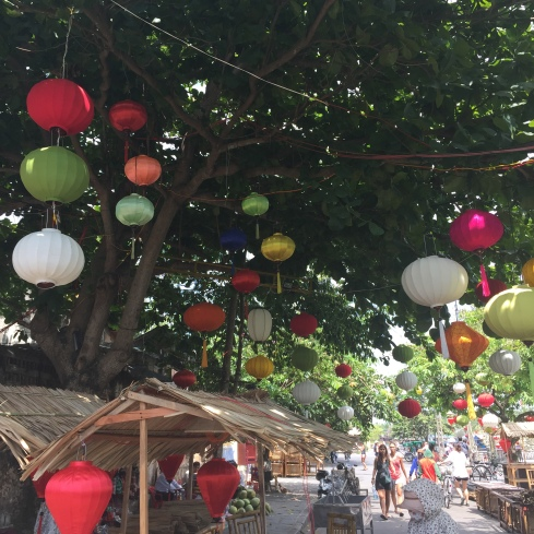 Just a typical street in Hoi An.